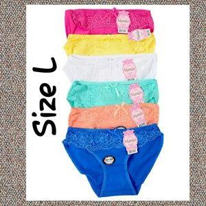 😍30% Off if bundle 3😍 NWT 6 Mamia Panties